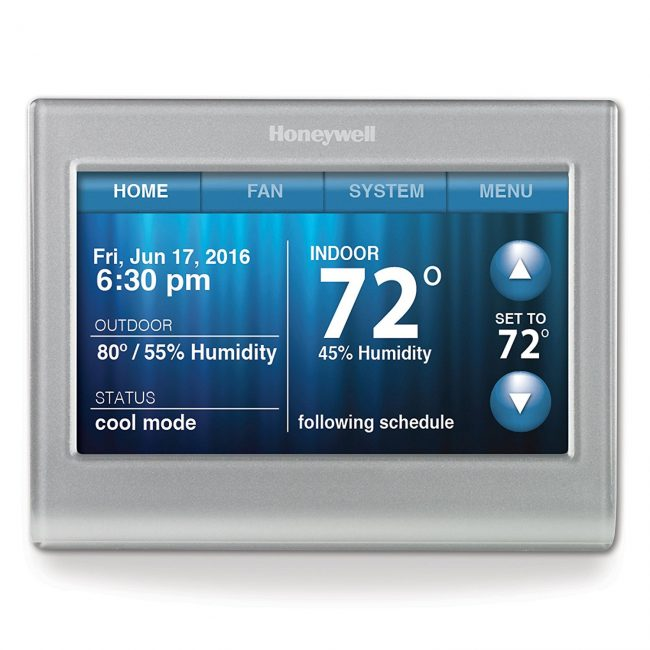 Honeywell smart WIFI thermostat