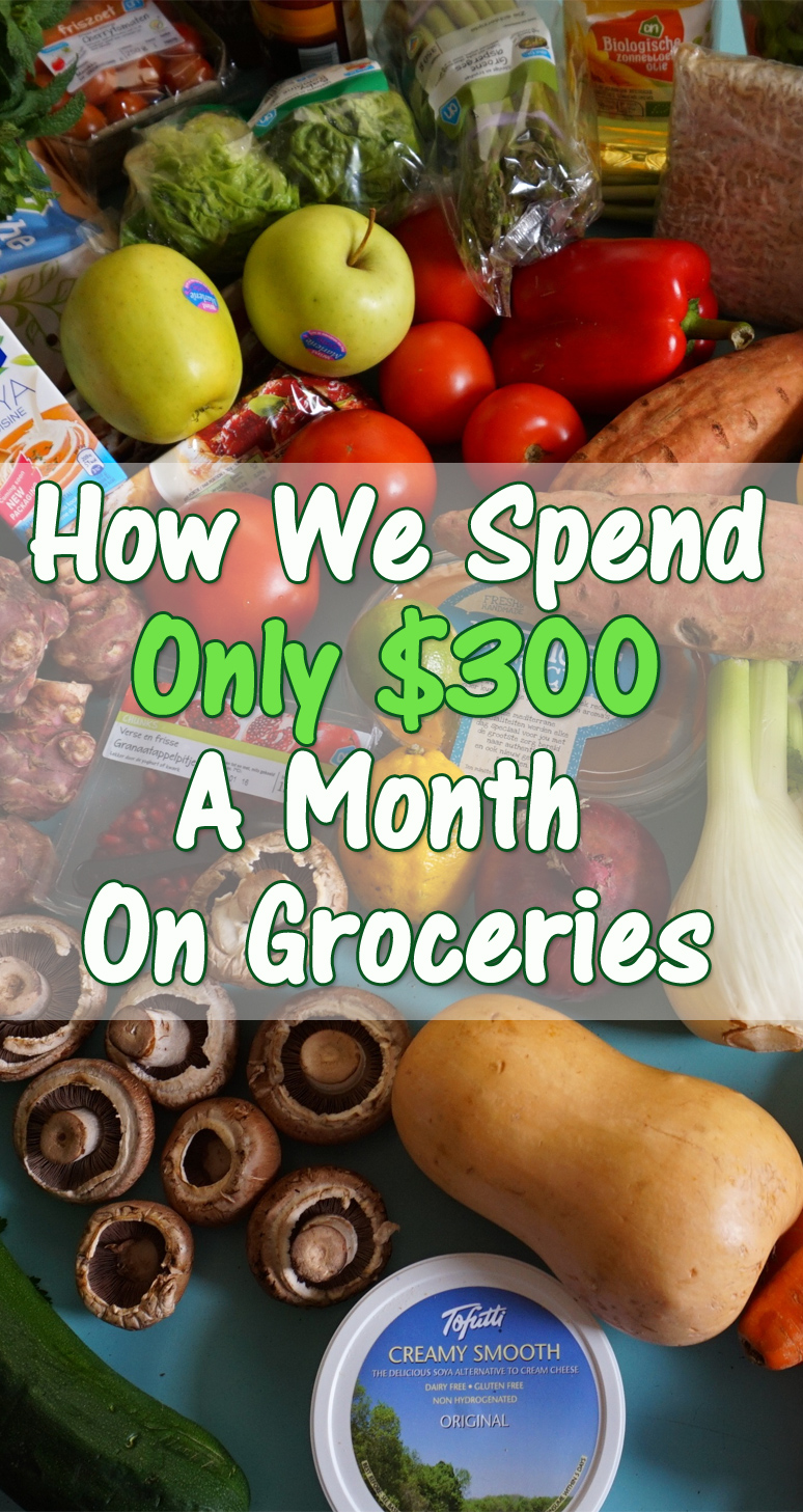 How We Spend Only $300 A Month On Groceries